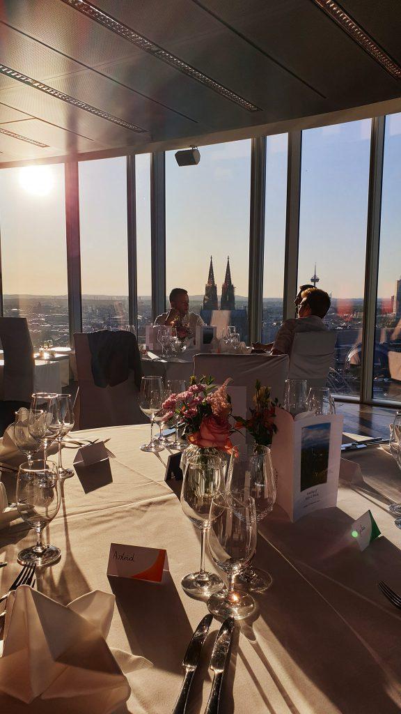 Kölnsky Aussicht auf den kölner Dom Hochzeitsdeko